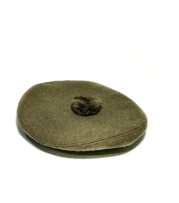 1960s wool green beret - image 6