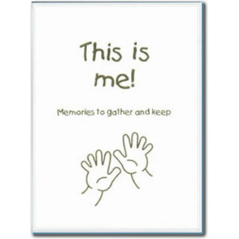 This is Me: Memories to Gather and Keep Adoption Lifebook image 0