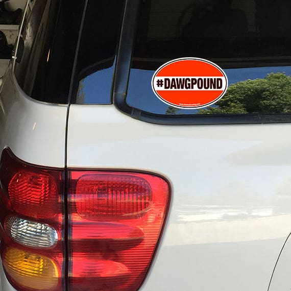 Cincinnatti Bengals Oval Car Magnet Made In The USA Football Sports Waterproof