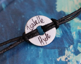 Isabelle Hyde Literal Signature Bracelet