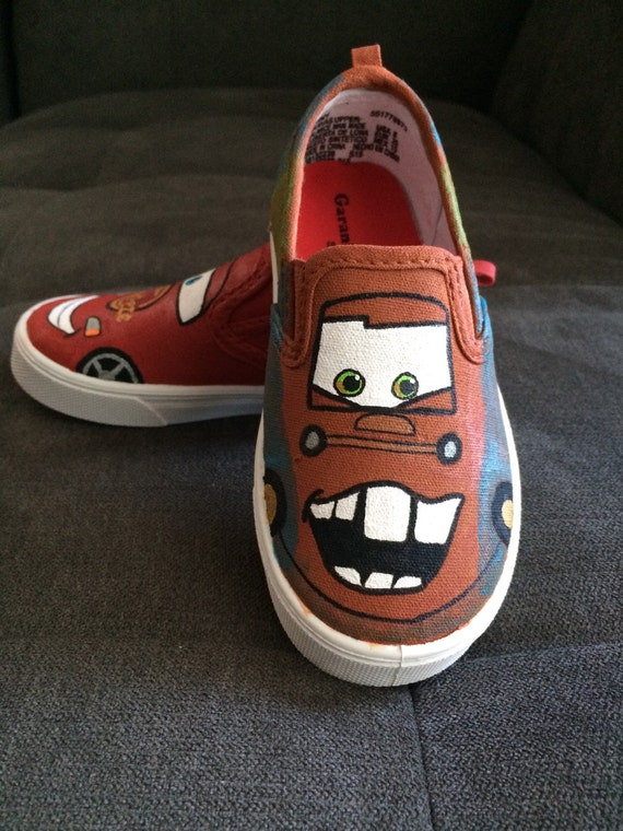 CARS VANS Shoes (Mater & Lightning McQueen)