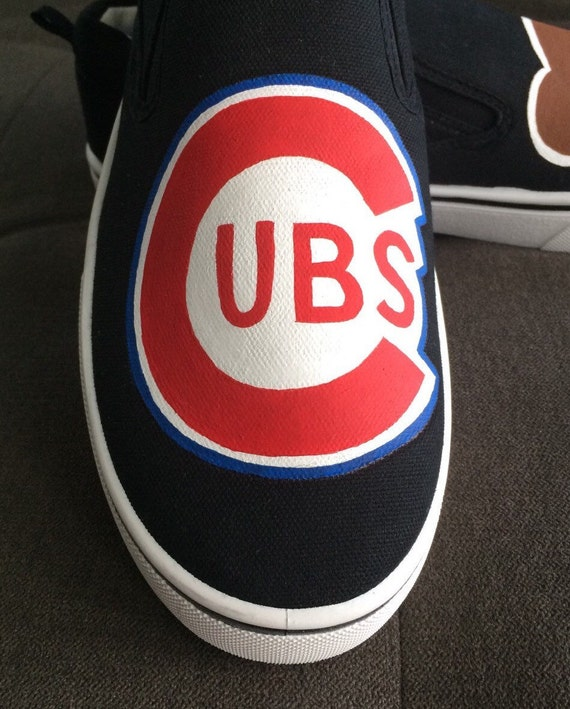 58bcd658c065 Chicago Cubs shoes 1940-50s logo VANS branded shoe