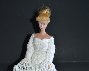 """11.5"""" Fashion Doll OOAK Ghost Crochet Pattern C03"""