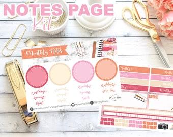 Zurück an Sammlung Notizen Page Kit