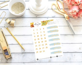 Little Miss Sunshine Collection Date Covers    Erin Condren Life Planner (Vertical Layout)