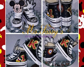 Mickey Mouse Inspired Converse