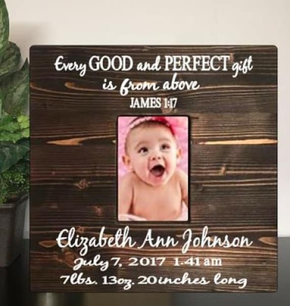 4bcc2923ee1 Baby picture frame - personalized baby frame - gift for new mom - baby  shower gift - nursery baby picture frame - baby frame - Birth frame
