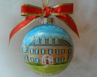 Handpainted Ornament Etsy