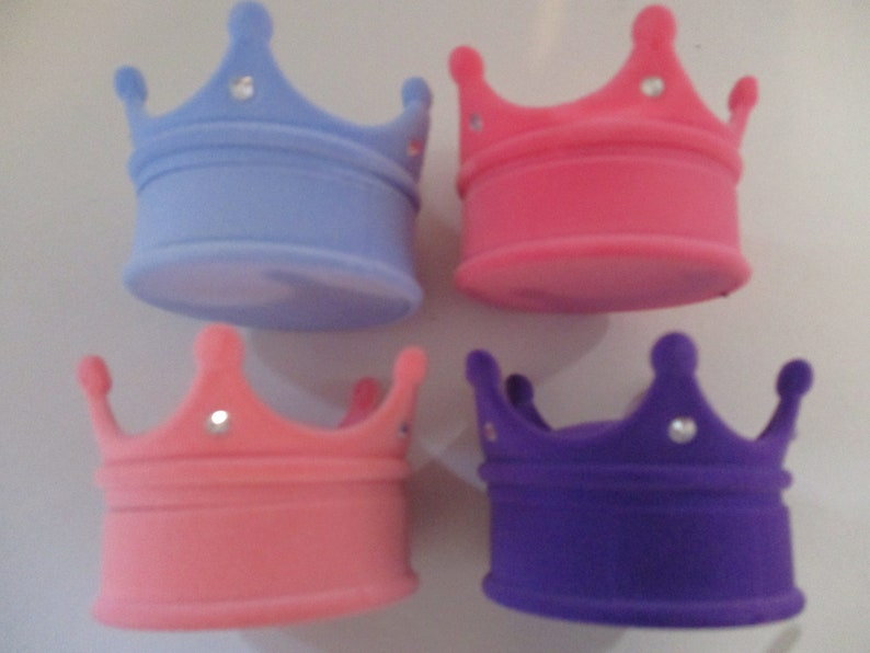 4 Color Choices Princess Crown Gift Box