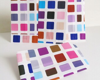 Colorful 10 fancy paper gift bags / bags for packaging gifts