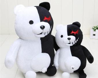 Danganronpa Plush Toy   Danganronpa Cosplay   Monokuma Plushie   Anime Plushie