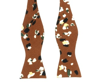 PHOEBE Self Tie Bow Tie| Flower | Self Tie | Bow Tie | Bowtie | Floral | Wedding | Groom | Gift | Ideas | for him