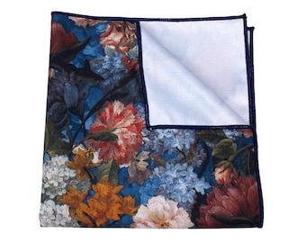 HAMILTON Floral Pocket Square | wedding | wedding ideas | wedding gifts