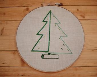 Cercle XXL Sapin de Noël