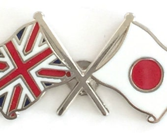 Australia Indonesia Friendship Flag Label Pin Metal Badge Badges Icon Bag Decoration Buttons Brooch For Clothes 1pc Badges Apparel Sewing & Fabric
