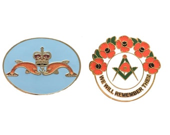 Royal Navy Sub Mariners Military Enamel Lapel Pin Badge