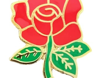 Set of 2 War of the Roses Yorkshire Lancashire Roses Internal Car Sticker Decals