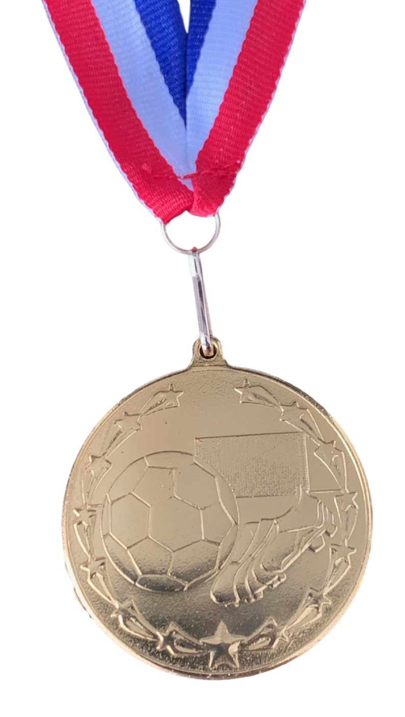T Ball /& Net Gold Medal and Ribbon ENGRAVED FREE 50 x Personalised Football Boot