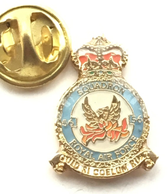 Vintage Royal Air Force RAF 18 Group Squadron Enamel Sweetheart Brooch