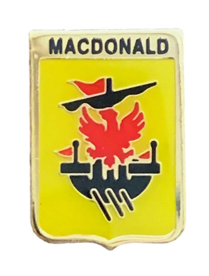 Smartbadge MACDONALD Family Clan Name Lapel Pin Badge