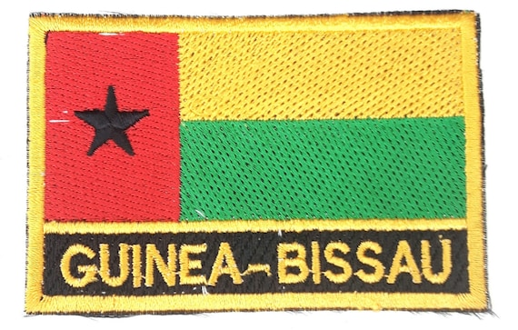 Guinea Bissau FLAG PATCH PATCHES BADGE IRON ON NEW EMBROIDERED