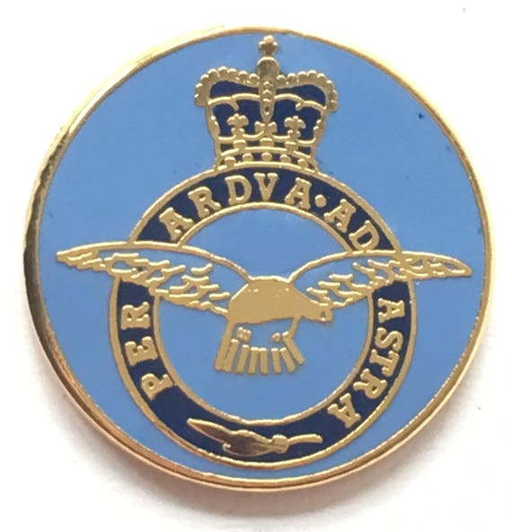 RAF Medical Lapel Royal Air Force Military Badge