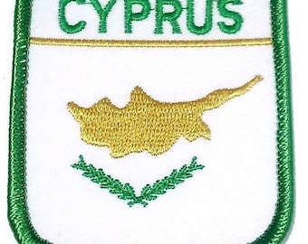 Cyprus Embroidered Patch