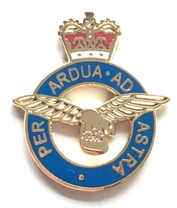 Royal Air Force RAF Insignia Crest Military Enamel Lapel Pin Badge