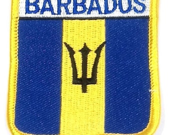 Barbados Embroidered Patch