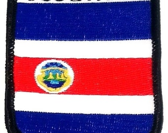 Costa Rica Embroidered Patch