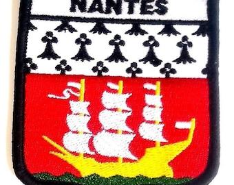 Patch écusson brodé de Nantes