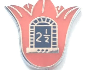 Orange Order Lodge LLOL Lilly 2.5 & Arch Enamel Lapel Pin Badge