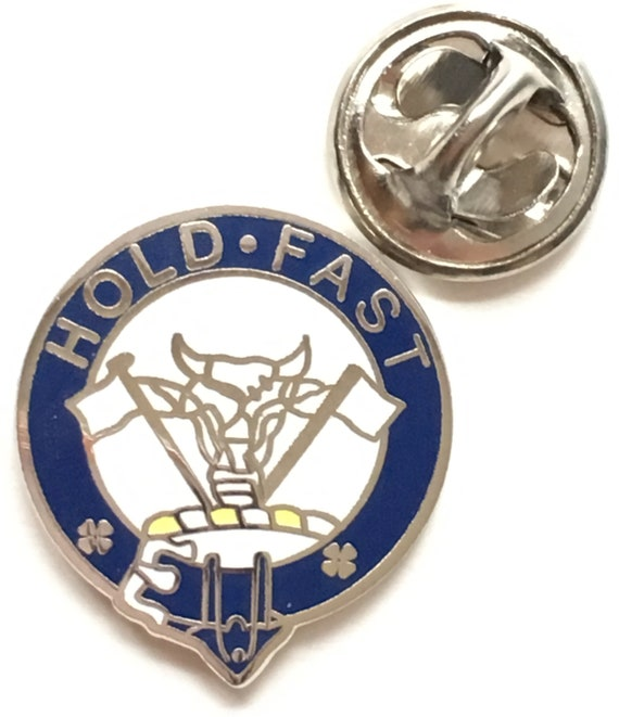 PROUD TO BE SCOTTISH Handcrafted in English Pewter Lapel Pin Badge