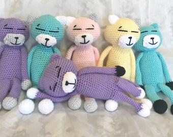 Crochet Amineko Cat Etsy