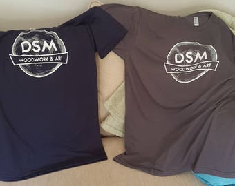T-shirts, DSM Woodwork - Company apparel - Support Small Business