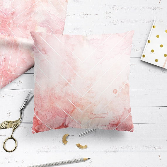 Pink Ombre Cushion In Blush Pink Pastel Pink Cushions Home Decor Decorative Pillow Handmade Unique Designer Pillows Cushions Uk 2017