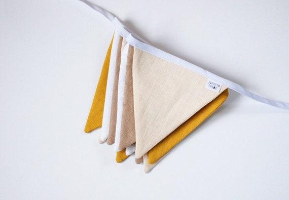 Triangle cloth beige