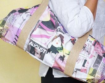 YOGA BAG - Fashion magazine theme