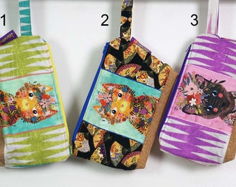 Washbag with waterproof lining - Cats theme