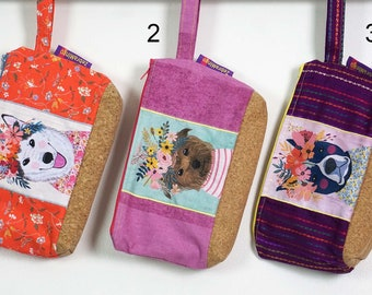 Washbag with waterproof lining - Dogs theme