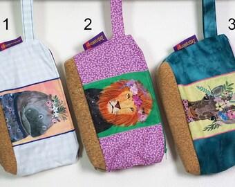 Washbag with waterproof lining - Safari theme