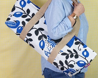 YOGA MAT BAG - blue bird