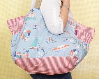 Beach Bag - Seaside theme