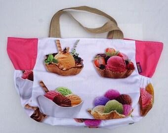 Beach Bag - Ice Cream theme