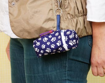 For dog walkers - Holder for treats or doggy-poo-bags - clips to your belt - Lots to choose from