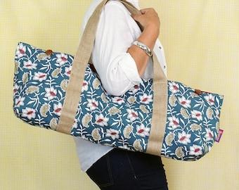 YOGA BAG, yogamat bag, yogamat carrier, yoga gift, yogaworkout bag, gift for yogafan, women yogagift, yogaclass bag, yoga equipment bag,