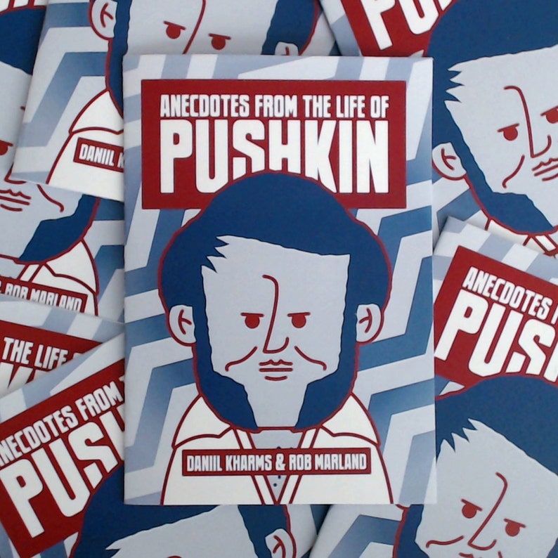 Anecdotes From the Life of Pushkin minicomic image 0
