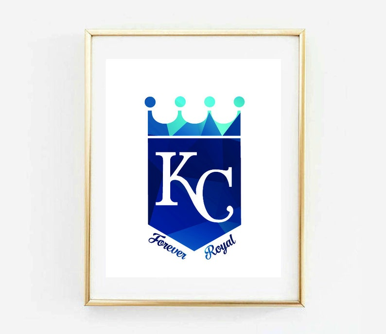 image relating to Kc Royals Printable Schedule called Kansas Metropolis Royals, Without end Royal, KC Royals, Royals Baseball, MLB, Royals Poster, Poster, Artwork Print, Printable, Residence Decor, Wall Decor