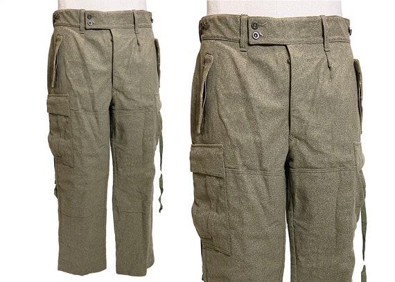Seyntex Melton Wool Military Cargo Pants