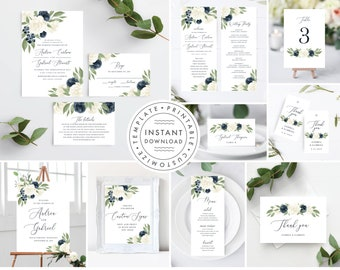 Wedding Invitation Template Bundle